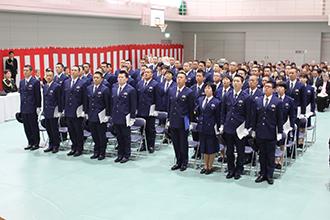 島根県警察:警察学校の一年間